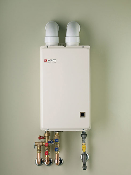 Modern pumping products april 2013 modern pumping todaymodern makes choosing a high efficiency tankless water heater for the home more affordable than ever especially when replacing a storage tank type unit sciox Image collections