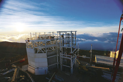 Solar Telescope Project Team Sees High Performance and Fast Delivery