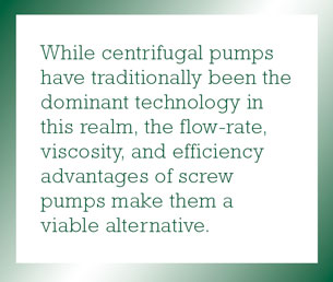Benefits of Screw Pumps in Oil-and-Gas Fluid-Handling Applications: Part 1 of 2